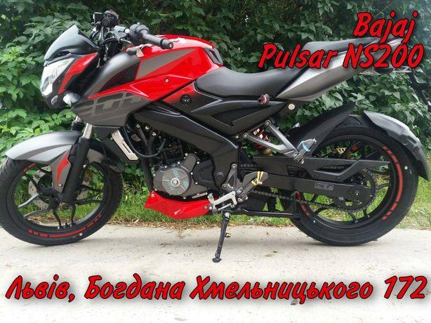 Мотоцикл Bajaj Pulsar NS200. КРЕДИТ 0% - ГАРАНТІЯ 2 Роки