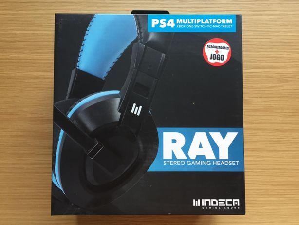 Headset INDECA Ray (PlayStation 5) NOVO | PS5 Switch PS4 Xbox PC