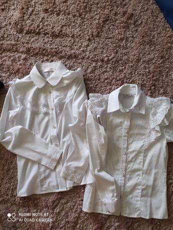 Блуза, рубашка белая. Блуза біла на дівчинку.