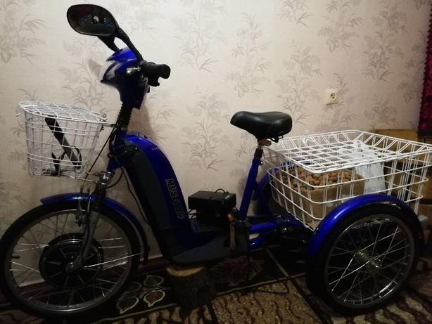 Електровелосипед трьохколісний Мустанг