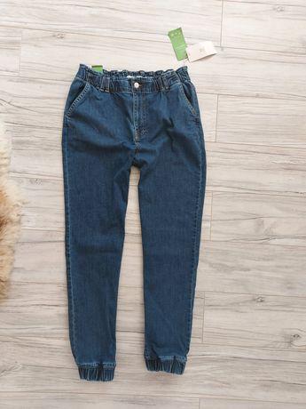 House spodnie jeansowe dżinsy joggery rozmiar 38 M h&m zara