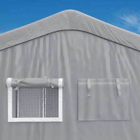 Hala rolnicza, namiot magazynowy, całoroczna garaż przemysłowy 10x20x