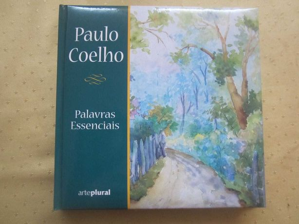 """Livro Capa Dura """"Palavras Essenciais"""" de Paulo Coelho"""