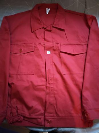 Bluza robocza czerwona