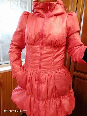 Брендовое пальто   пуховик платье Kira Plastinina