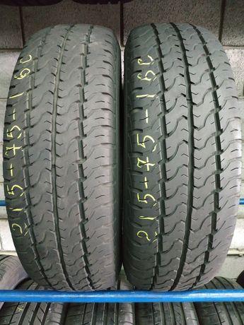 Літні шини 215/75 R16C DUNLOP