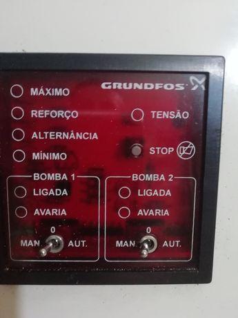 Caixa de controlo bombas