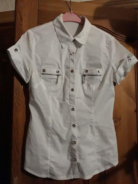 Белая рубашка школьная кофточка