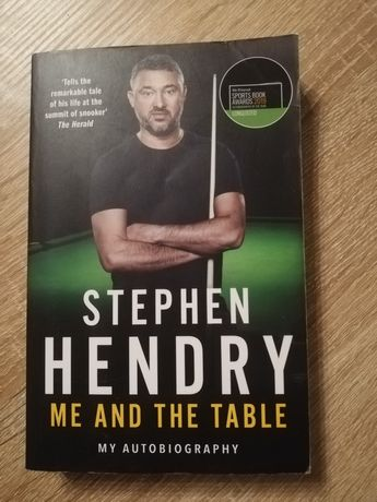 Książka Stephen Hendry Me and the Table My Autobiography
