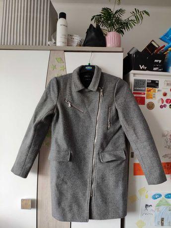 Płaszcz zimowy szary XS 34
