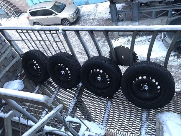 Продам колеса взборі на зимовій резині