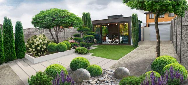 Ландшафтный дизайн, Проектирование, Озеленение, Автоматический полив