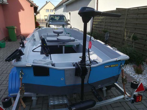 Łódź LAKE-FOX 320 GPX przyczepa-silnik+sonda