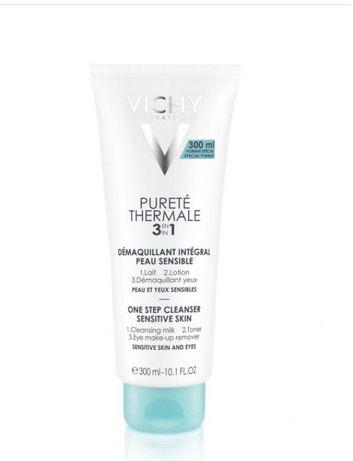 Vichy Purete Thermale 3in1 Средство для снятия макияжа 3в1 300мл.