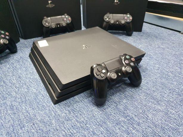 Konsola PS4 PRO 1TB 4K HDR + PAD Gwarancja 3 Miesiące SONY KOMPLET