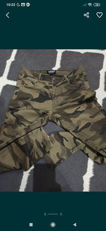 Spodnie moro cropp 42 44