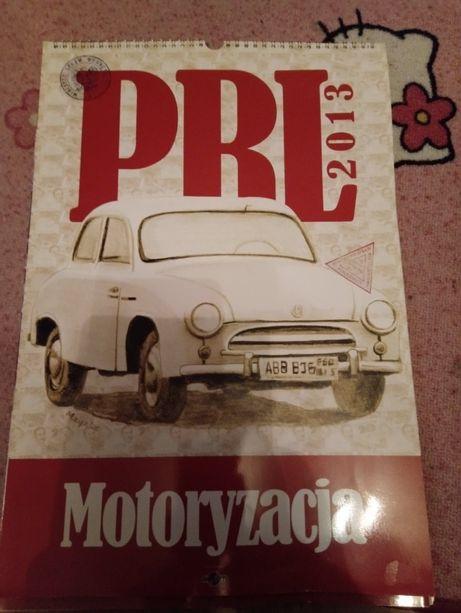 Kalendarze motoryzacyjne PRL