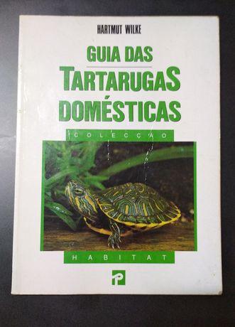 Guia das Tartarugas Domésticas, de Hartmut Wilke