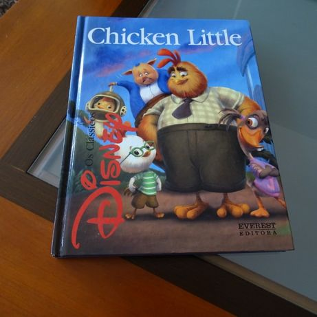 Livro - Chicken Little (Disney)