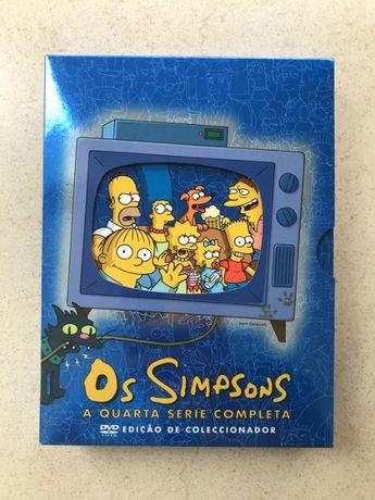 Os Simpsons - A Quarta Série Completa - Edição De Coleccionador