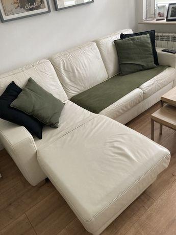 Rogówka skórzana kler kanapa sofa