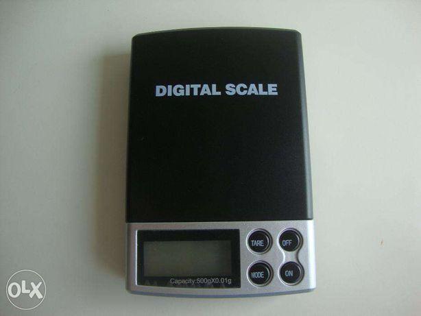 Balança de Precisão Digital de Bolso 500gx0.01g
