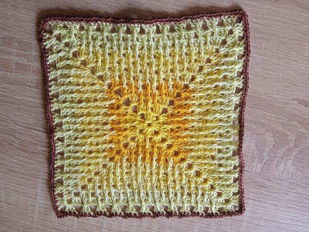 Serweta handmade na szydełku