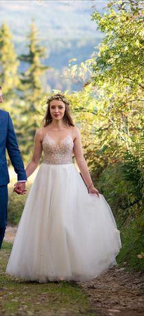 Suknia Ślubna Gala, model ALBASARI / BELLA rozmiar 34/36 XS/S