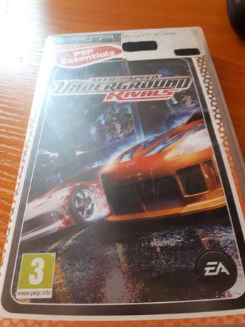 Gra na PSP NeedForSpeed UnderGround Rivals