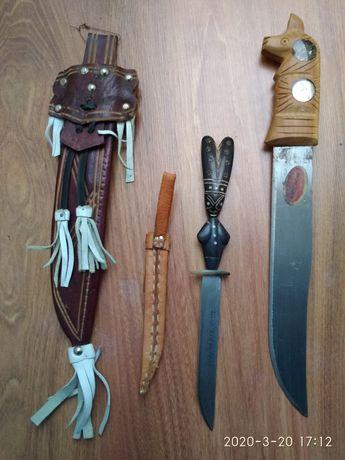 Nóż, sztylet z pochwą etno
