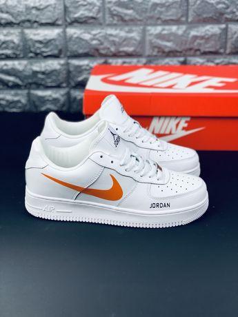 Кроссовки кожаные Nike Air Jordan 1 Retro (35-46) Найк Аир Форс Force