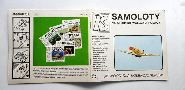 Samoloty na których walczyli Polacy - Album dla kolekcjonerów #38