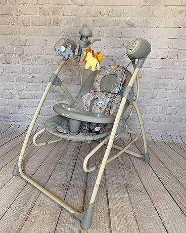 Крісло гойдалка для немовлят колиска carello