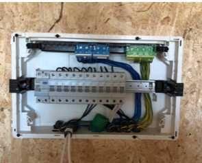 Trabalhos de eletricidade, instalação e manutenção