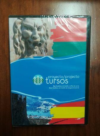 DVD- Projecto Tursos , baixo Guadiana , um mundo nas margens de um rio