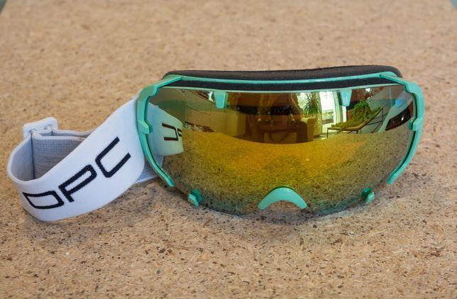 Gogle narciarskie OPC SKI 04 Green REVO powystawowe