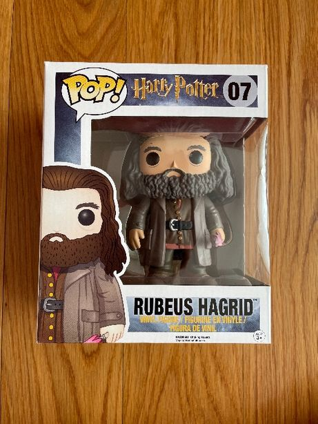 Funko Pop Rubeus Hagrid (Harry Potter), como novo - Harry Potter 07