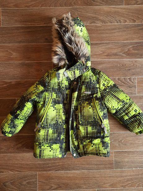 Продам детский зимний комбинезон и куртку Lenne