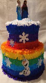 Piniata tort z Krainy lodu xxl