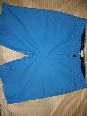 krótkie niebieskie spodenki Calvin Klein roz: W:34