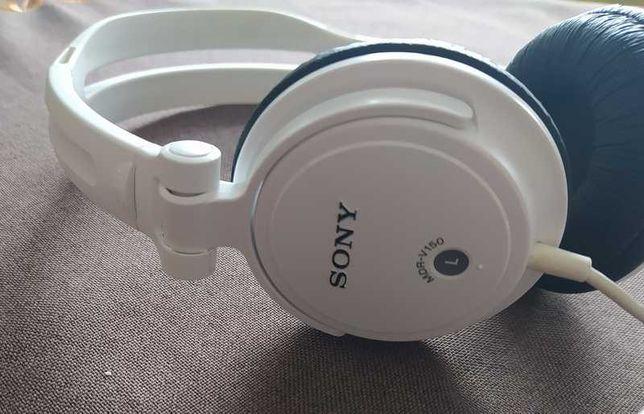 SONY - świetne białe słuchawki na pałąku