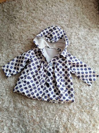 Płaszczyk kurtka dla dziewczynki