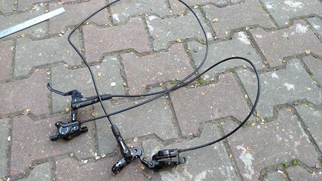 Hamulce hydrauliczne tarczowe Shimano MT500 super stan komplet