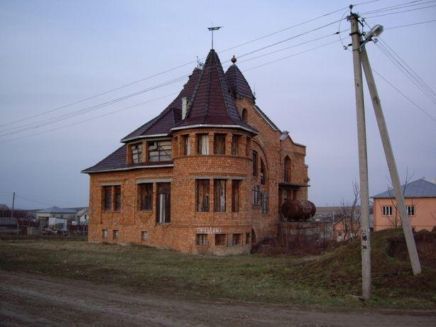 продам будинок недобудований в екологічно чистому місці
