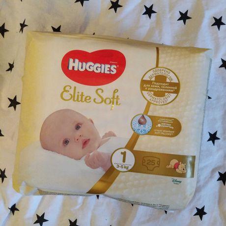 Подгузники Huggies Elite Soft Newborn 1 (3-5 кг), 25 шт.