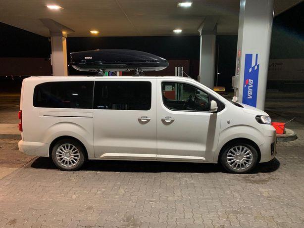 Wynajem busa 9 osobowego Toyota Proace Olsztyn Dobre Miasto Mrągowo