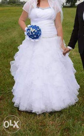 Suknia Ślubna 42-44 XXL