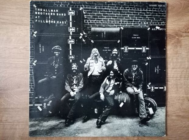 The Allman Brothers Band at Fillmore east 2 x lp.