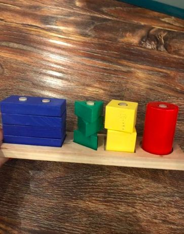 Деревянные головоломки-игрушки