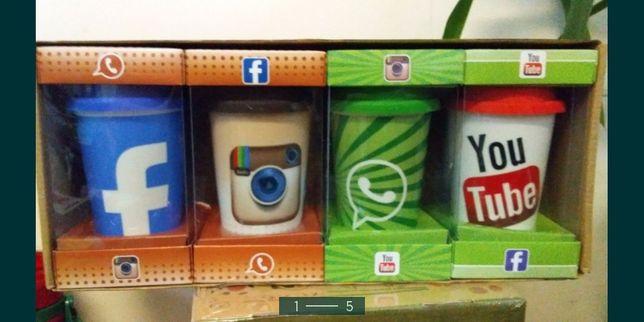 Чашка социальные сети ютуб инстаграм вотсап фейсбук